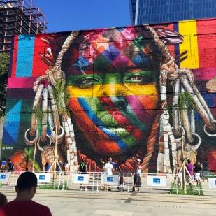 Uma indígena dentro da cidade