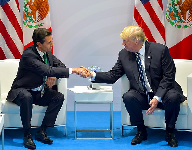 614px-Enrique_Peña_Nieto_meets_with_Donald_Trump,_G-20_Hamburg_summit,_July_2017_(1)