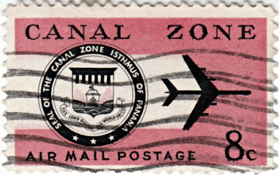 Panama_Canal_Zone_Air_Mail_Stamp