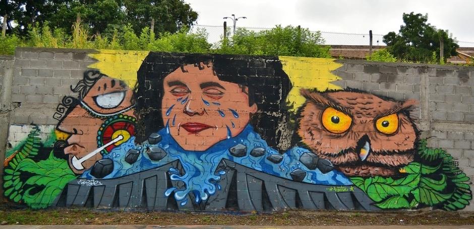 Graffiti_Berta_Tegucigalpa